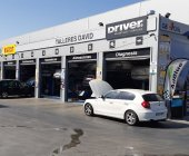 Driver Center incorpora su identificación corporativa a Talleres David en Coslada